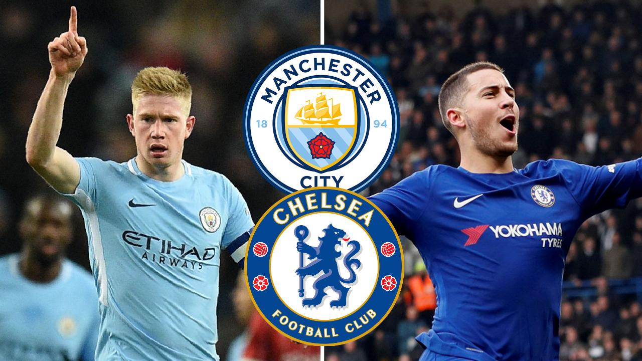 Manchester City Contra Chelsea: Formacionet: Manchester City-Chelsea