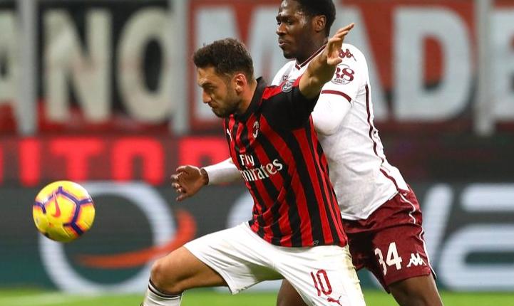 Torino ndali Milanin