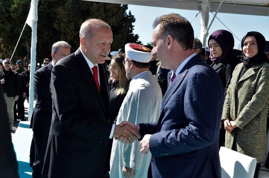 Limaj me Erdoganin marrin pjesë në shënimin e 140 vjetorit të betejës së Çanakalasë