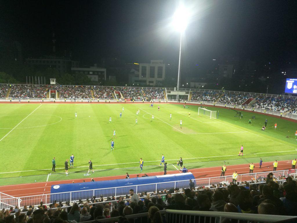 Vjen goli i parë në ndeshjen Feronikeli   TNS