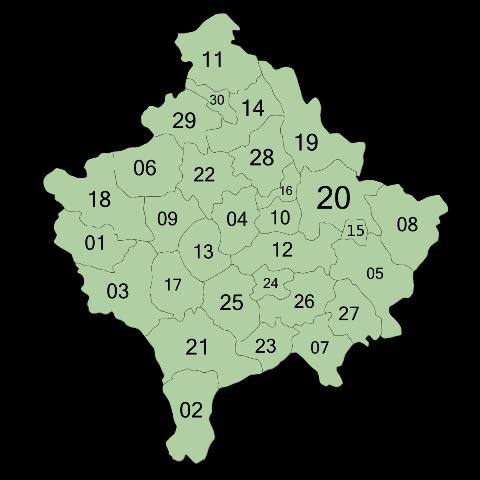 Deri tani këto janë komunat e prekura nga koronavirusi në Kosovë