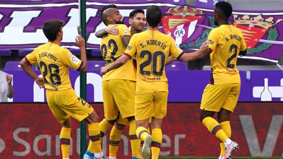 Barcelona mban gjallë shpresat për titull
